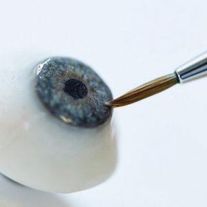 پروتز چشم تخلیه شده