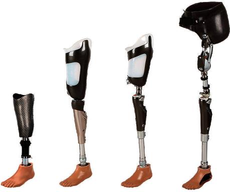سوکت پای مصنوعی بالای زانو